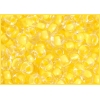 Seedbead 2/0 Crystal Yellow Shiny Terra Color